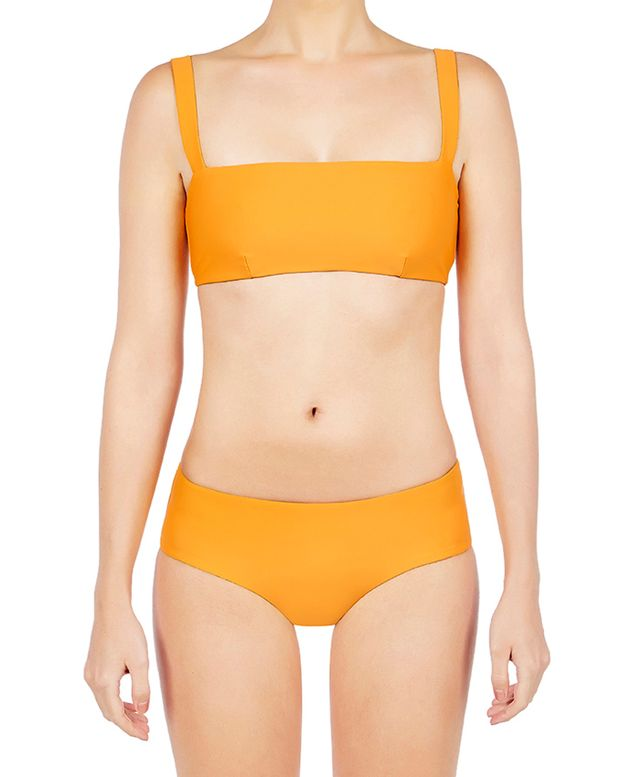 Matteau Swim Square Crop Top