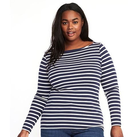 Classic Boat-Neck Top