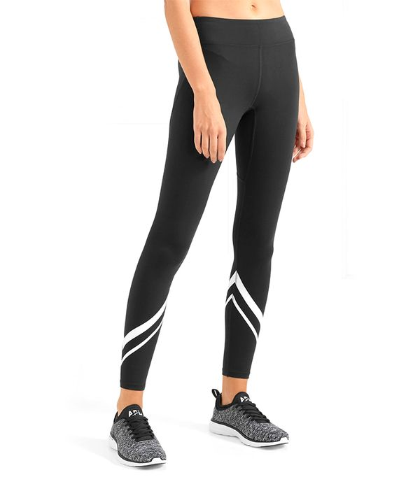 Printed Stretch-tactel Leggings