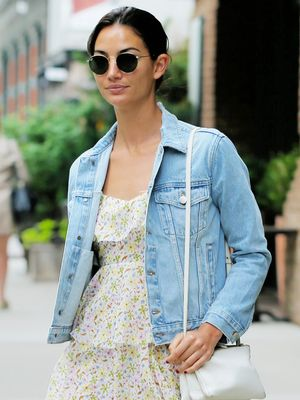 A Behind-the-Scenes Look at Lily Aldridge's Chic New Shoot