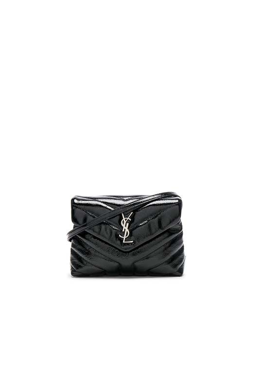 Small Loulou Patent Monogramme Strap Bag