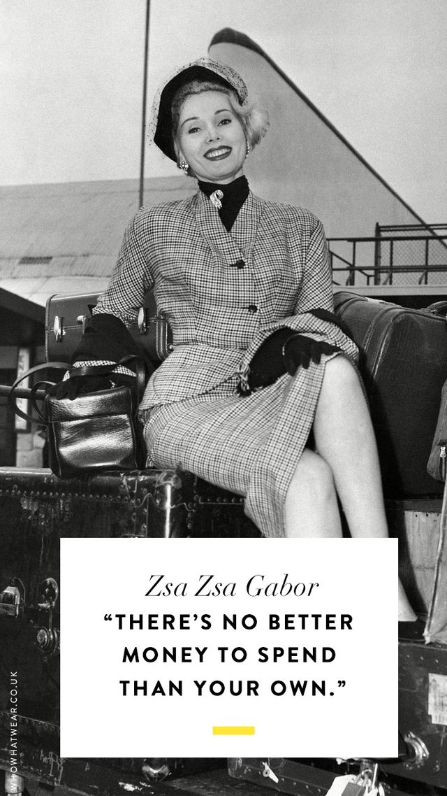 Zsa Zsa Gabor Quotes Endearing The Best Zsa Zsa Gabor Quotes Of All Time  Whowhatwear