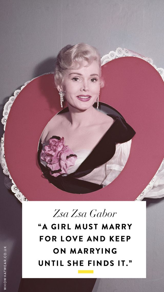 Zsa Zsa Gabor Quotes Magnificent The Best Zsa Zsa Gabor Quotes Of All Time  Whowhatwear