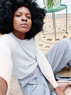 The #1 Product Freddie Harrel Swears by for Her Hair