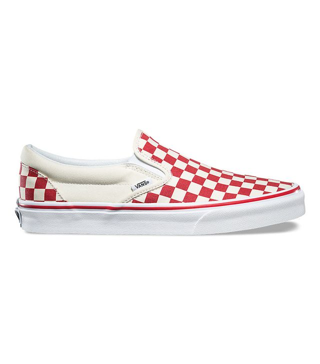 Vans Primary Check Slip-On Sneakers