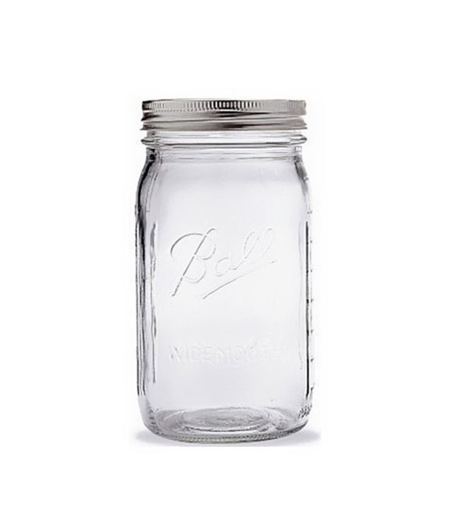 Ball Quart Jar With Silver Lid