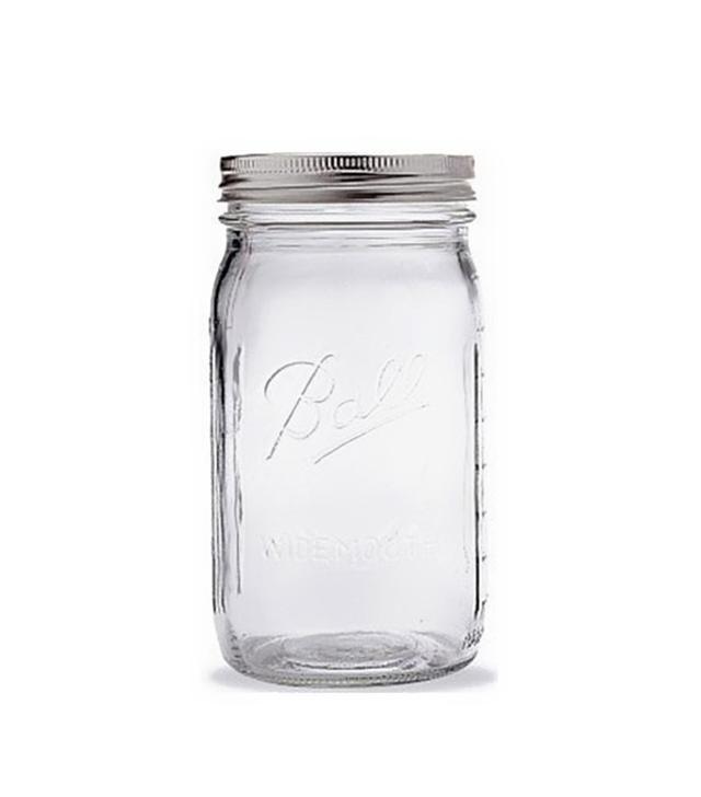 Ball Quart Jar With Silver Lid