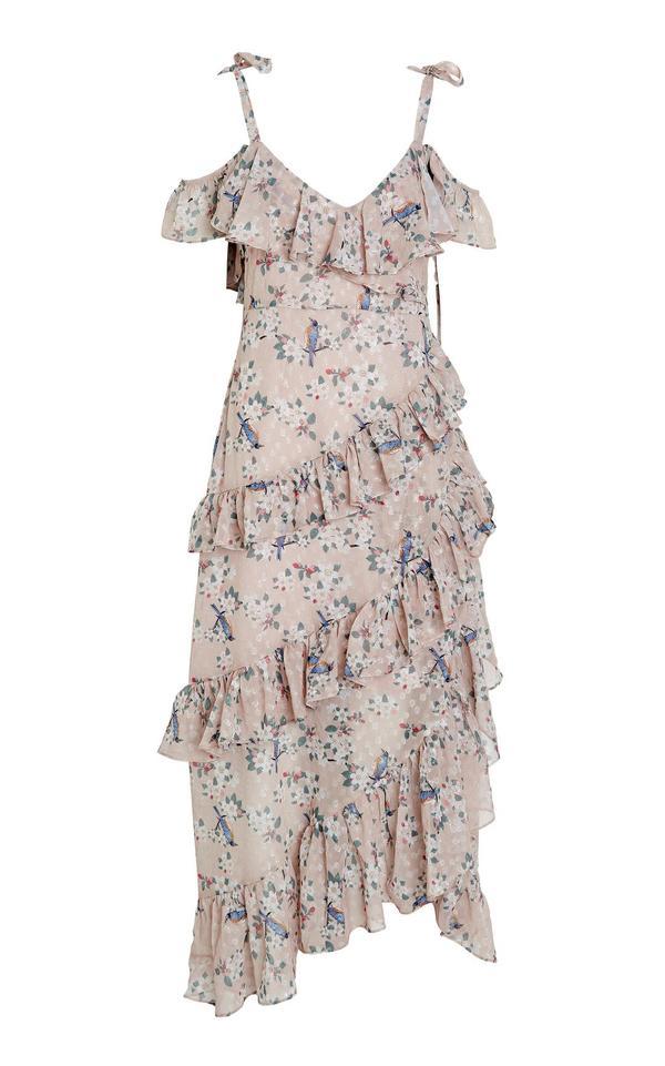 Pippa Ruffle Maxi Dress