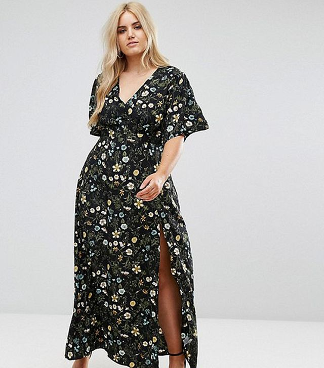 Missguided Floral Maxi Dress