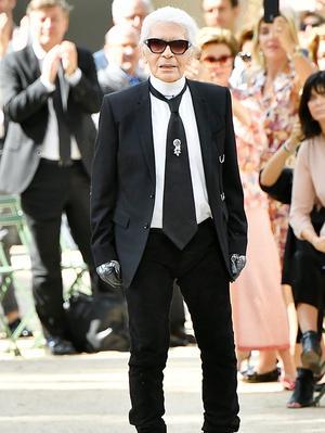 Calling All Chanel Fans: Karl Lagerfeld Designed Vans Sneakers