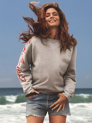 And Now, Here's Half-Naked Cindy Crawford Wearing Skinny Jeans