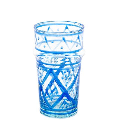Petite Moroccan Glass in Blue