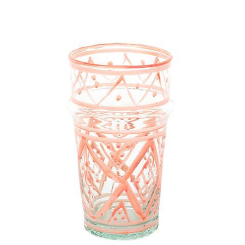 Petite Moroccan Glass in Blush