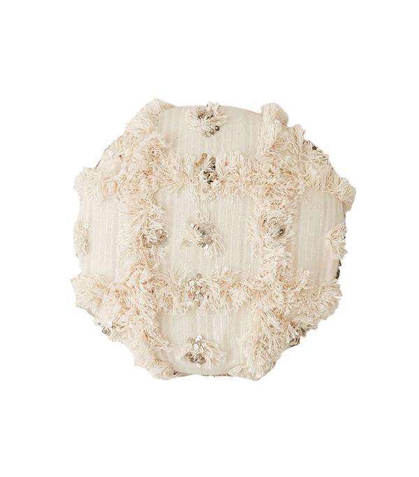 Moroccan Coin Pillow Pouf