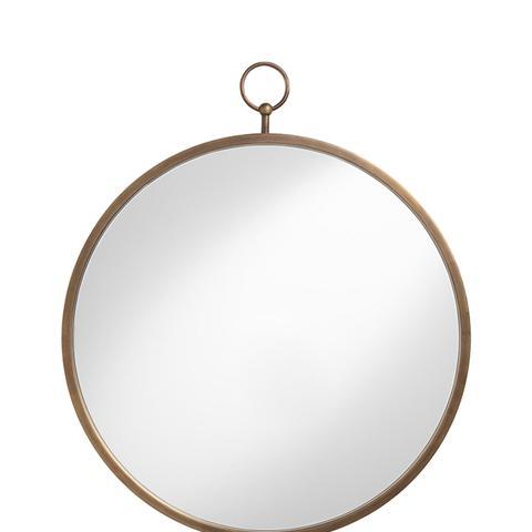 Brass Metal Loop Mirror