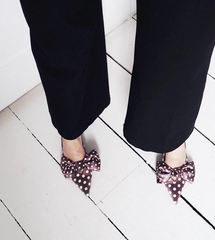Zara's Polka-Dot Kitten Heels Are the
