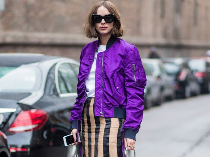 The Embroidered Bomber Jacket Just Won't Go Away—and That's a Good Thing