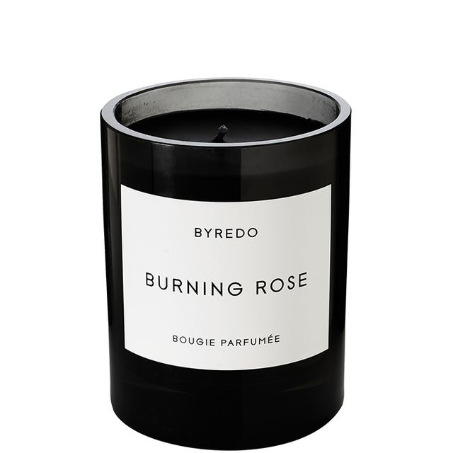 Burning Rose Scented Candle