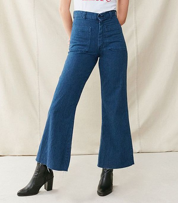 Vintage Sailor High-Rise Flare Jean