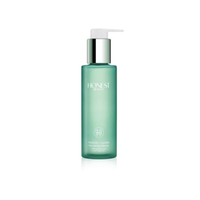 Honest Beauty Younger + Cleaner Resurfacing Cleanser - virtual skin diary