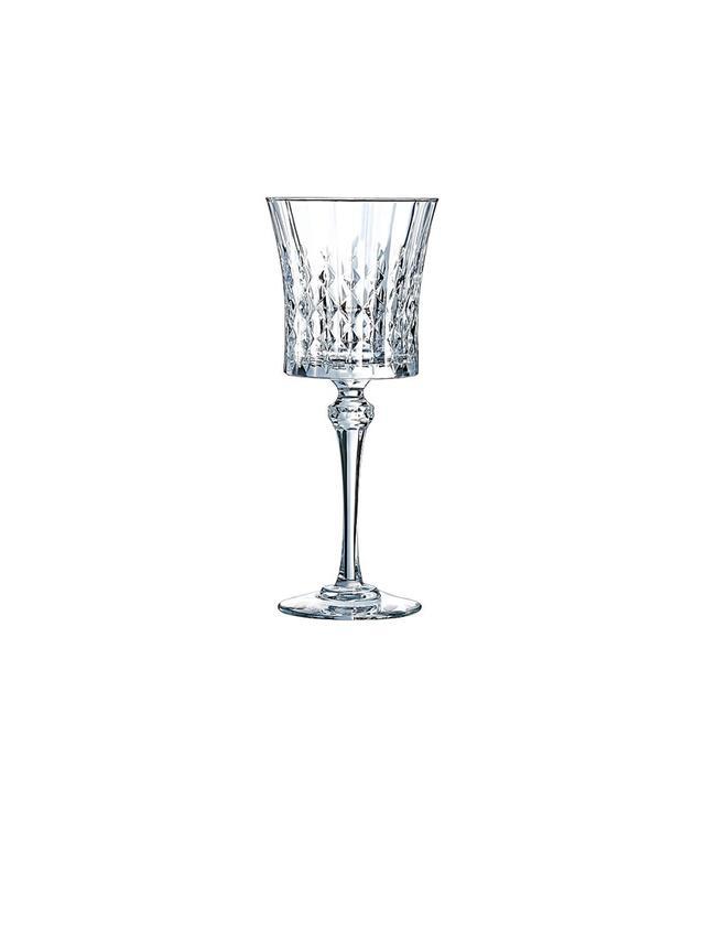Cristal D'arques Lady Diamond Wine Glasses