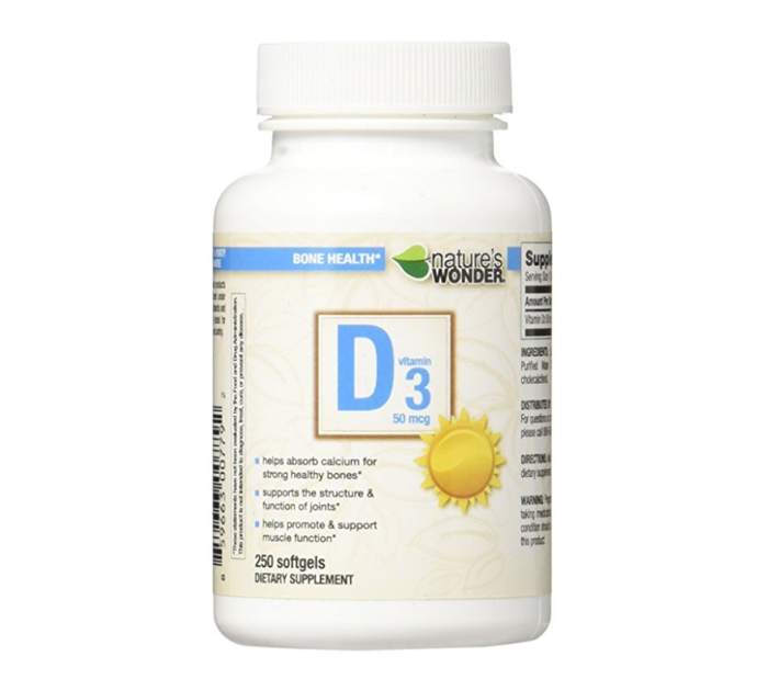 Vitamin D3 by Nature's Wonder