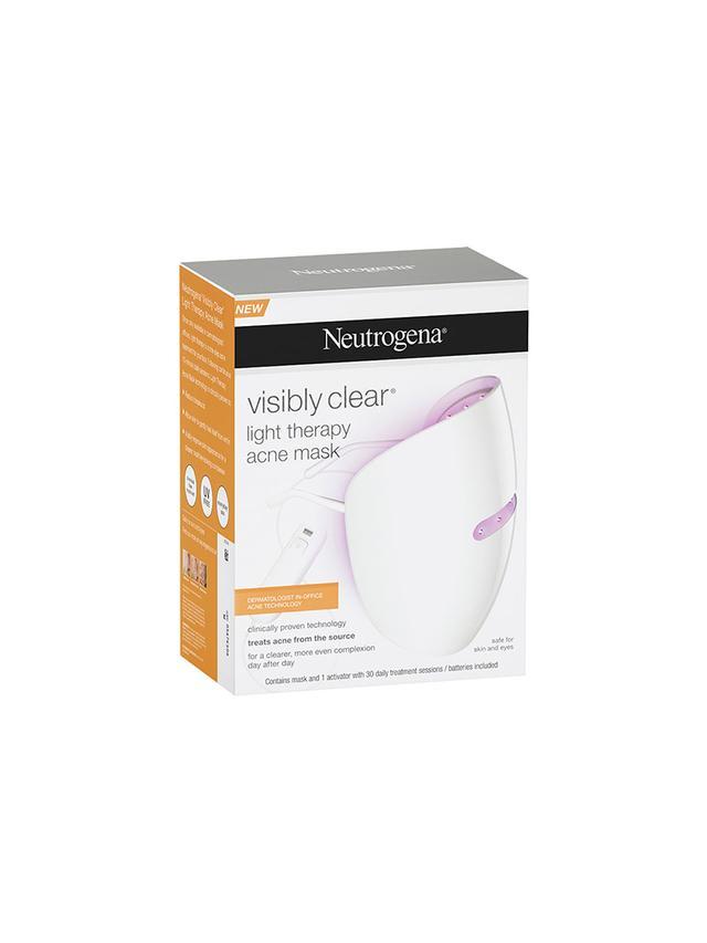 Neutrogena Light Therapy Acne Mask Review Byrdie Au