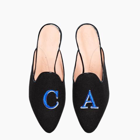 Homer Black Customisable Shoes