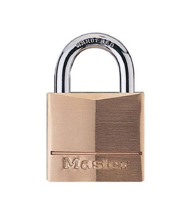 Master Lock Solid Brass Keyed Padlock