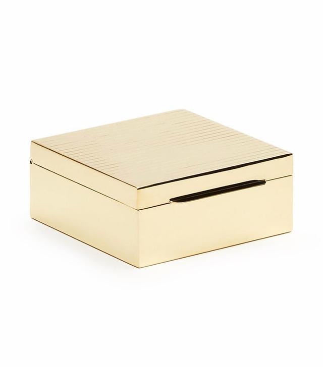 Tenfold New York Polished Brass Box