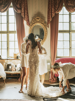 Every New York Fashion Girl Was at This Divine Swedish Wedding—Take a Look