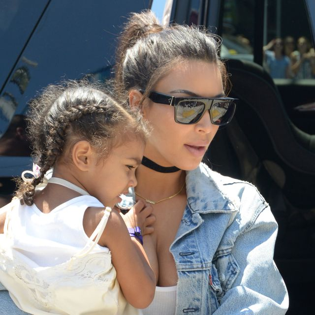 Take a Look at Kim Kardashian West and North's First Cover Together