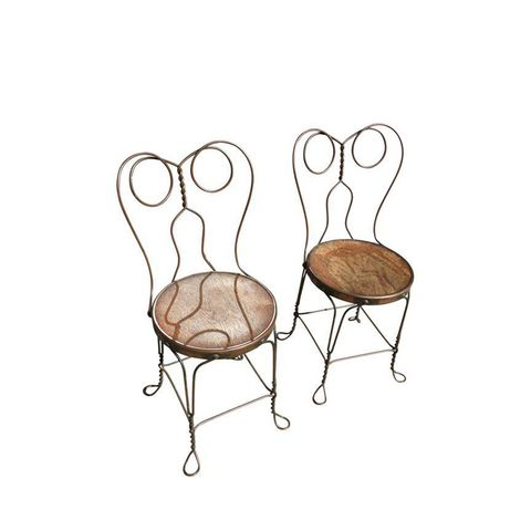 Wire Chair Company Ice Cream Parlor Chairs