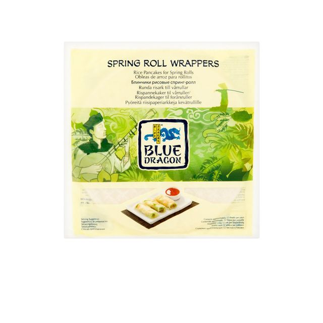 Kayla Itsines vietnamese rolls recipe: Blue Dragon Spring Roll Wrappers