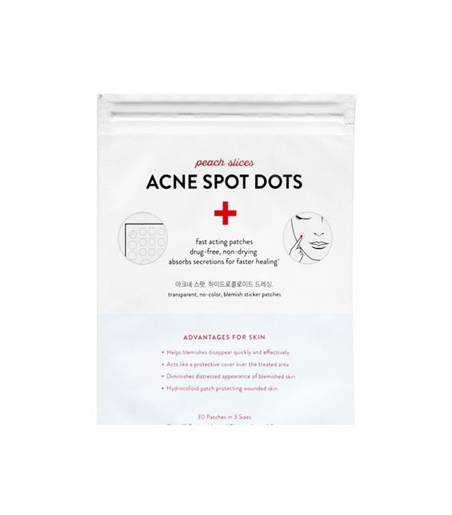 Peach Slices Acne Sport Dots