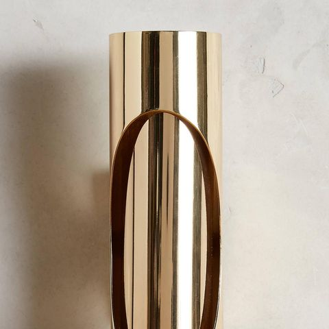 Brass Ellipse Sconce