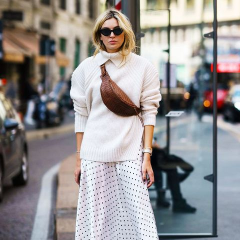 how to wear polka dots: Camille Charrière