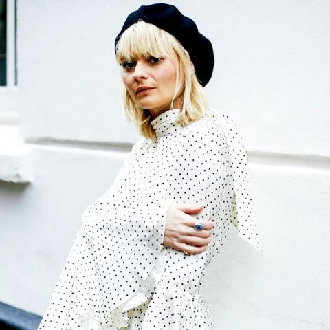 How to wear polka dots: Pandora Sykes