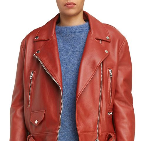 Merlyn Leather Moto Jacket