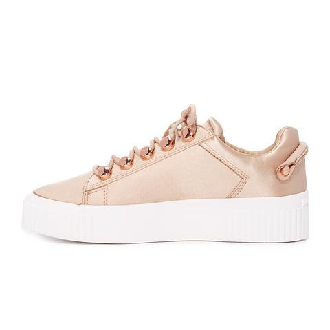 Rae III Satin Sneakers