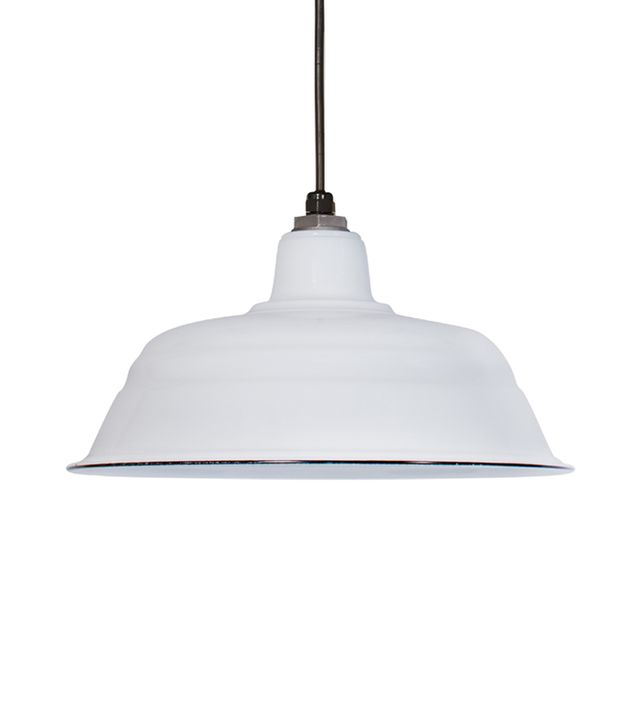 Barnlight Electric Porcelain White Bomber Shade