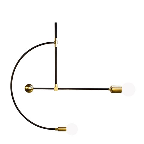 Miró Brass Chandelier