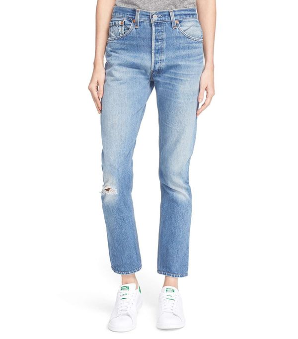 Women's Re/done The High Waist Reconstructed Jeans