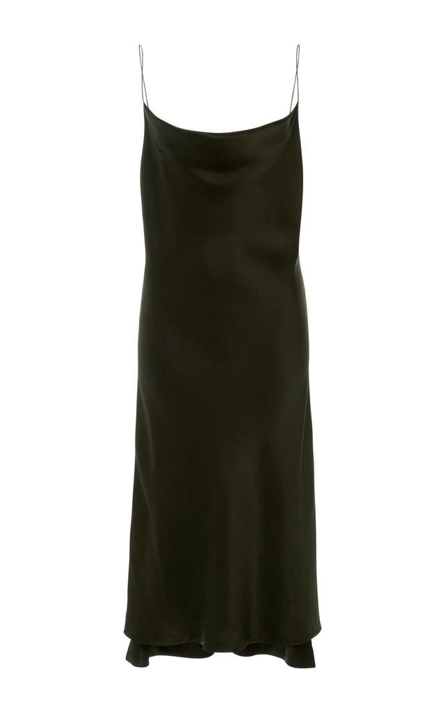 Silk-Satin Dress