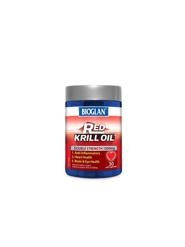 Bioglan Red Krill Oil Double Strength