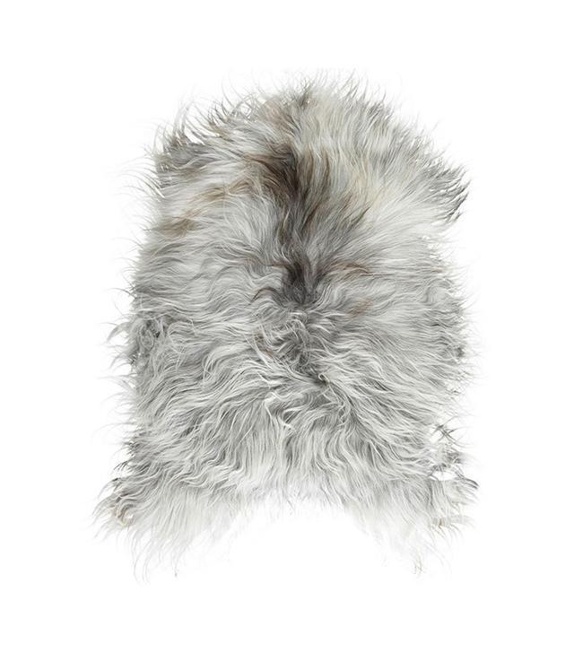 TRNK Grey Long-Haired Icelandic Sheepskin