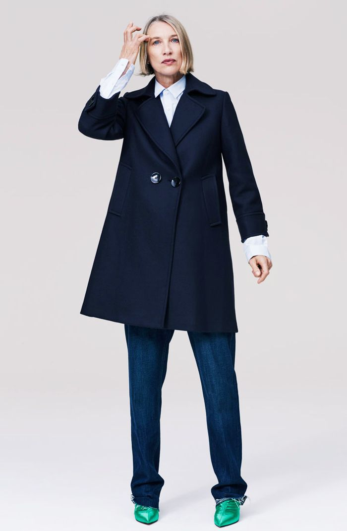 Zara timeless: double breasted coat
