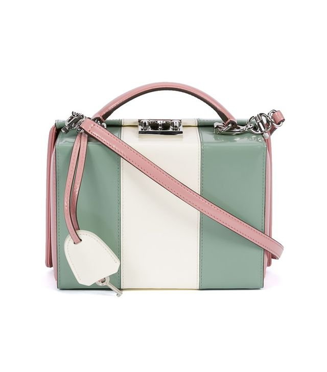 Mark Cross The Webster x Ritz Paris Tricolor Grace Bag
