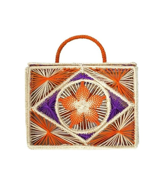 Boho Hunter Tottem Mucura Bag Orange & Violet