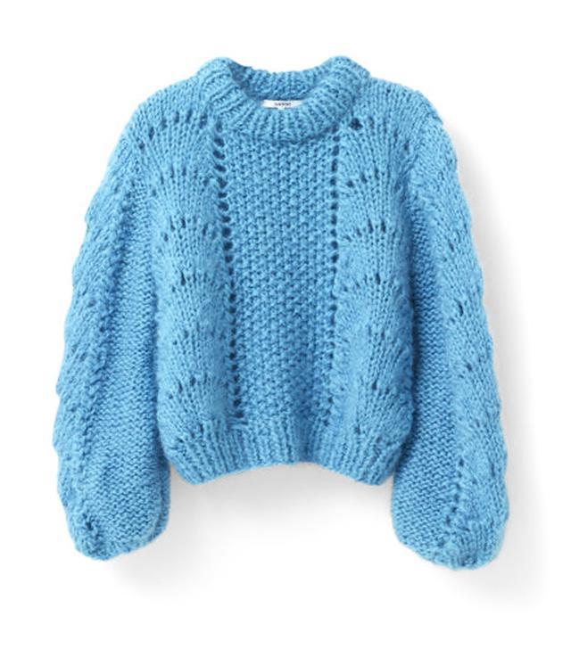 Ganni The Julliard Mohair Pullover